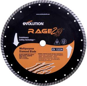 Diamantklinga Rage, 355mm